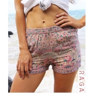 RAGA First Blush High Waisted Shorts